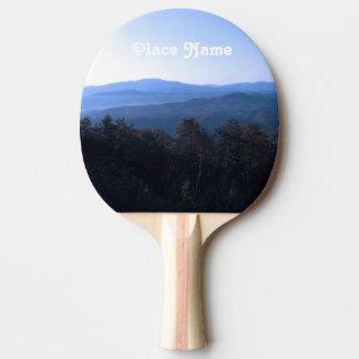 Raquette De Ping Pong Montagnes de la Caroline du Nord