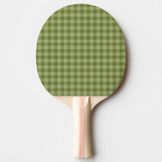 Raquette De Ping Pong motif coloré géométrique de coton