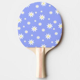 Raquette De Ping Pong Motif en pastel mignon et girly de marguerite