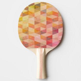 Raquette De Ping Pong Motif géométrique de triangle molle