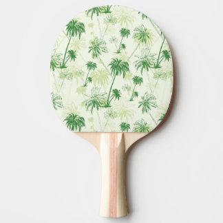 Raquette De Ping Pong Motif vert de palmier