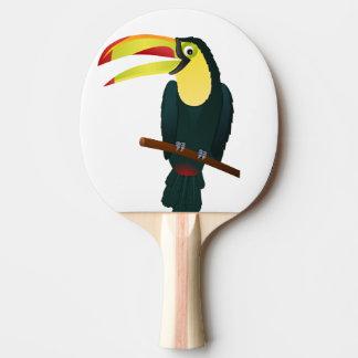 Raquette De Ping Pong oiseau de toucan