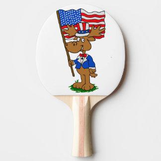 Raquette De Ping Pong Orignaux de patriote