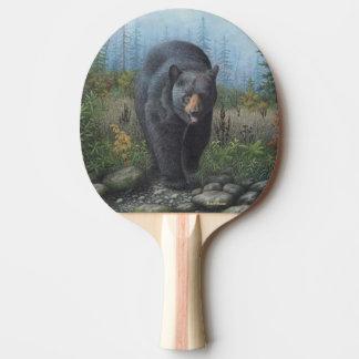 Raquette De Ping Pong Ours noir