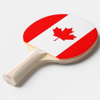 Raquette De Ping Pong Palette de ping-pong avec le drapeau du Canada