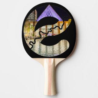 Raquette De Ping Pong Palette de ping-pong d'hôtel de ville d'Edmonton