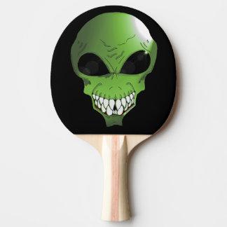 Raquette De Ping Pong Palette étrangère verte de ping-pong