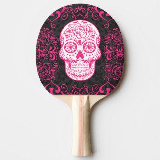 Raquette De Ping Pong Palette gothique de ping-pong de noir de rose de