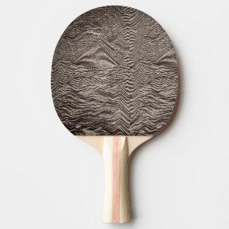 Raquette De Ping Pong Palette noire et blanche de ping-pong