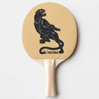 Raquette De Ping Pong panthère noire