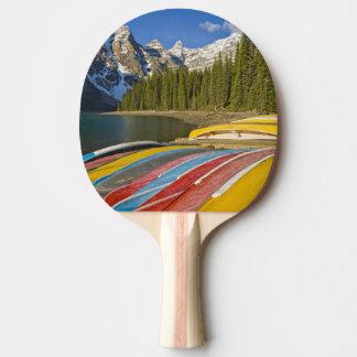 Raquette De Ping Pong Parc national du Canada, Alberta, Banff, moraine