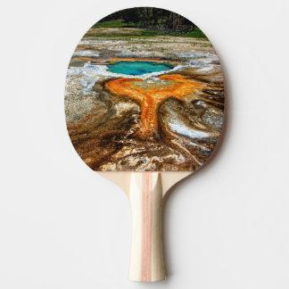 Raquette De Ping Pong Piscine de courant ascendant de Yellowstone