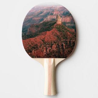 Raquette De Ping Pong Point impérial et bâti Hayden au coucher du soleil