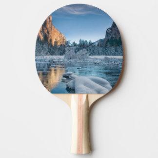 Raquette De Ping Pong Portes dans Yosemite