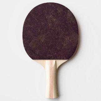 Raquette De Ping Pong regard grunge d'effet de nouveau cool moderne de