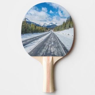 Raquette De Ping Pong Route express de champs de glace