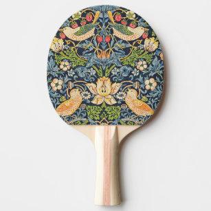 Raquette De Ping Pong Schéma floral William Morris Strawberry Thief