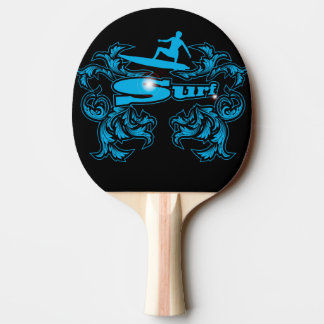 Raquette De Ping Pong Surfboarder
