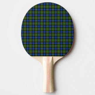 Raquette De Ping Pong Tartan de Fergusson de clan