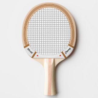 Raquette de tennis en bois vintage raquette tennis de table