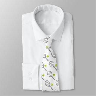 Raquette de tennis et cravate faite sur commande