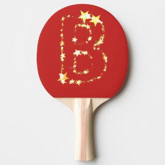 Raquette Tennis De Table alphabet b