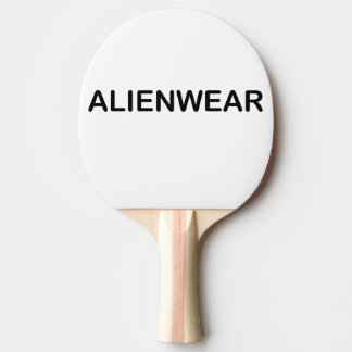 Raquette Tennis De Table Art d'AlienWear