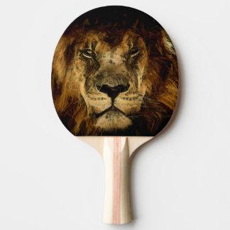 Raquette Tennis De Table Art puissant de lion