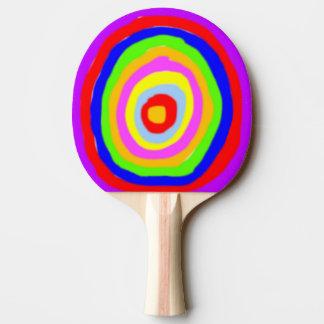Raquette Tennis De Table Batte de ping-pong - cercles de couleur