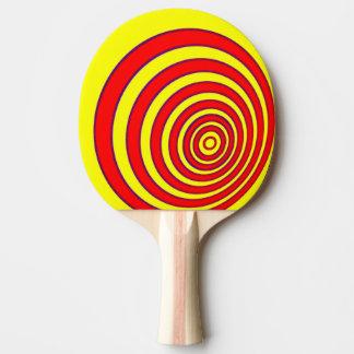 Raquette Tennis De Table Batte de ping-pong/palette - cercles excentrés