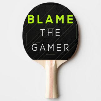 Raquette Tennis De Table Blâmez la palette de ping-pong de Gamer