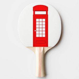 Raquette Tennis De Table cabine de téléphone