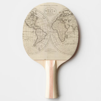 Raquette Tennis De Table Carte du monde 2
