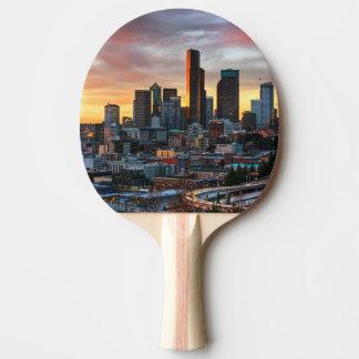 Raquette Tennis De Table Centre de Colombie et Seattle du centre, Seattle