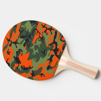 Raquette Tennis De Table Chasseur orange Camo