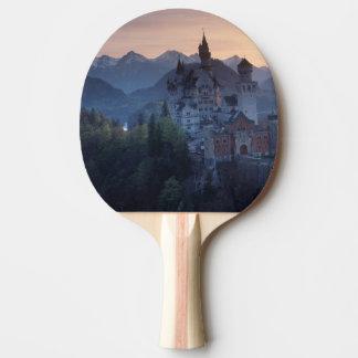 Raquette Tennis De Table Château de Neuschwanstein, 1800's en retard
