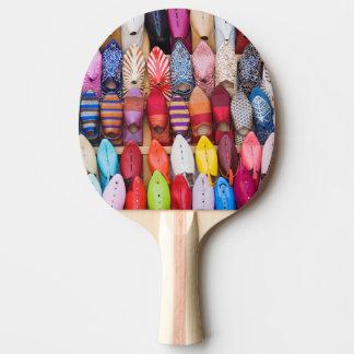 Raquette Tennis De Table Chaussures montrées dans un magasin dans les souks