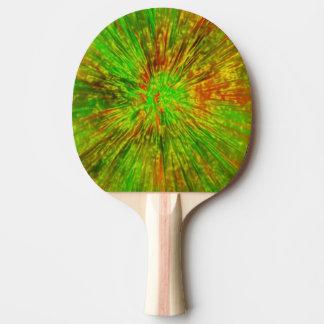 Raquette Tennis De Table Colorant vert de cravate