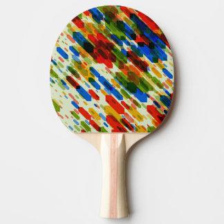 Raquette Tennis De Table conception de regard fraîche géométrique abstraite