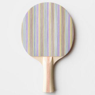 Raquette Tennis De Table conception de style de couleurs en pastel de livre