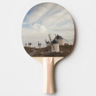 Raquette Tennis De Table Consuegra, moulins à vent antiques de Mancha de La