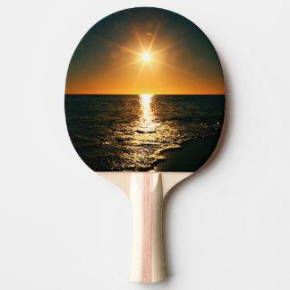 Raquette Tennis De Table Coucher du soleil