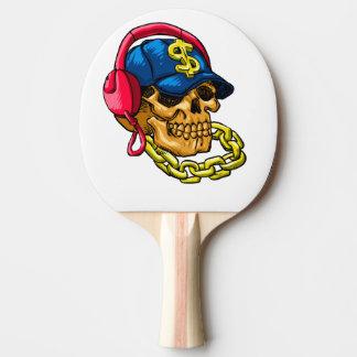Raquette Tennis De Table Crâne de bandit