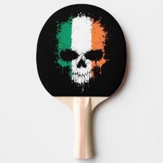 Raquette Tennis De Table Crâne d'éclaboussure d'égoutture de l'Irlande