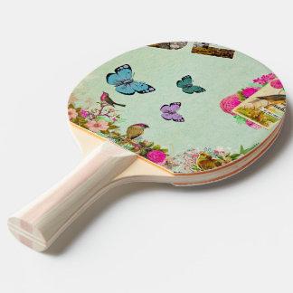 Raquette Tennis De Table cru, nouveau d'art, beige, gris, art déco,