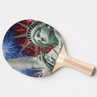 Raquette Tennis De Table drapeau américain Etats-Unis