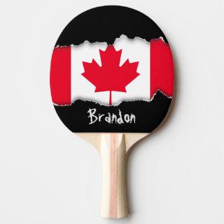 Raquette Tennis De Table Drapeau classique du Canada