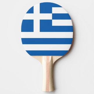Raquette Tennis De Table Drapeau de palette de ping-pong de la Grèce