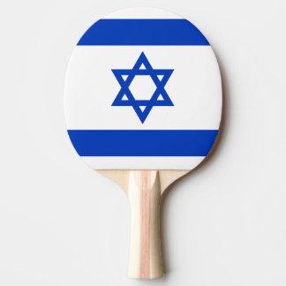 Raquette Tennis De Table Drapeau de palette de ping-pong de l'Israël