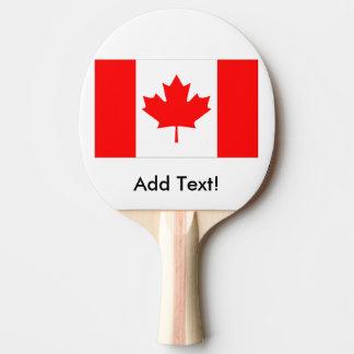 Raquette Tennis De Table Drapeau du Canada